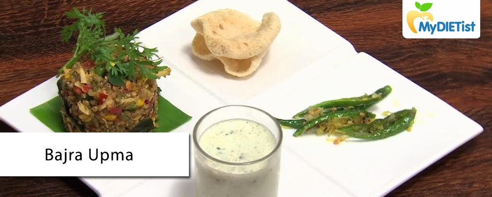 Bajra Upma recipe