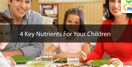 4 Key Nutrients For Your Children