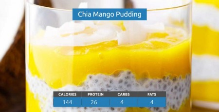 Chia Mango Pudding Recipe