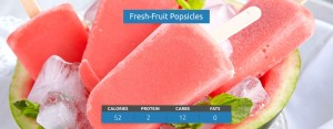Fresh Fruit Popsicles